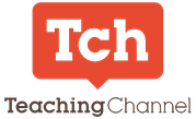 TeachingChannel Logo - Tch in an orange talk bubble with TeachingChannel written below in brown