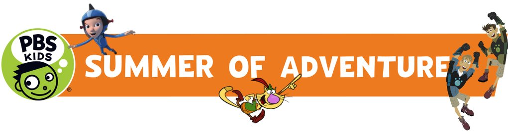 PBS Kids Summer of Adventure Banner