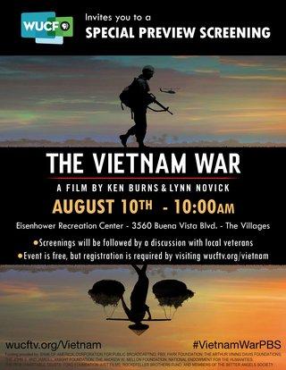The Vietnam War Screening - The Villages