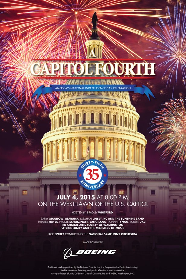 A Capitol Fourth Poster