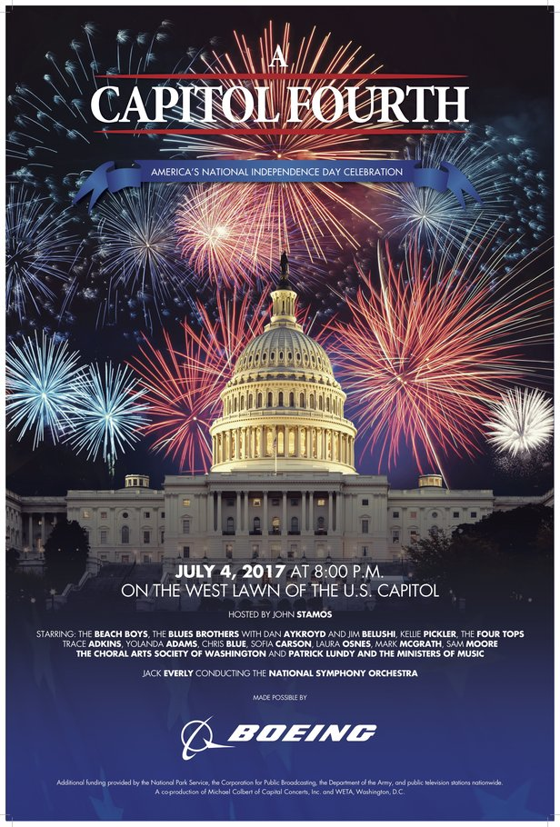 A Capitol Fourth 2017 Poster