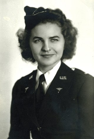 U.S. Army Nurse June Wandrey.
