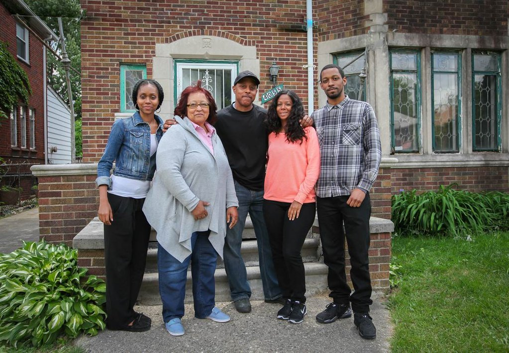This Old House - Detroit House with Family
