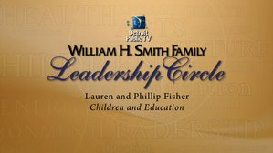 Lauren and Philip Fisher are the Smith Leadership Circle Supportors for Programming in Children and Education