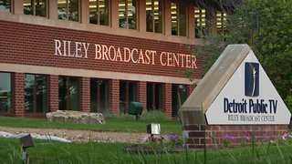 Riley Broadcast Center - Detroit Public TV's studio in Wixom, Michigan thanks in large part to George and Delores Riley