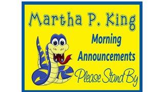 Martha P. King ES