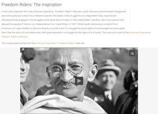 Ghandi Descripton