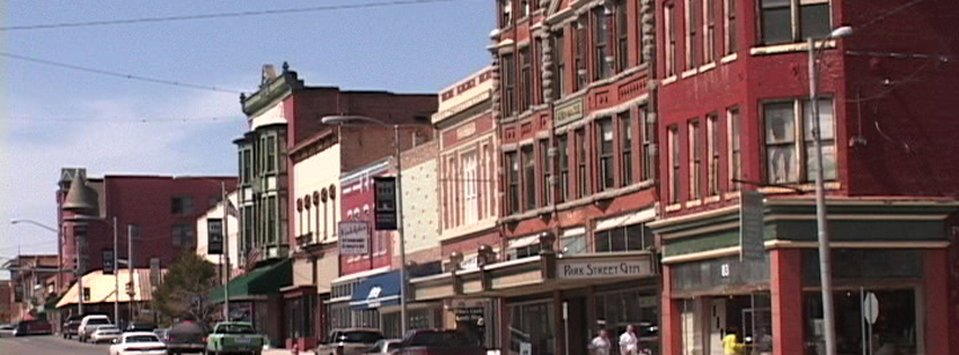 Much of Butte's historic uptown area is slowly being redeveloped.