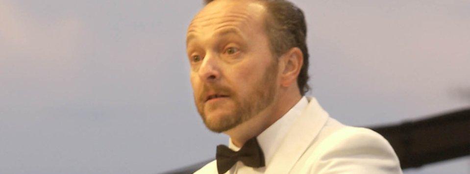 Artistic Director, John Zoltek, conducts the Montana Summer Symphony.