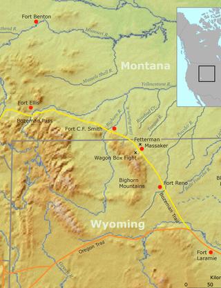 Bozeman Trail Map