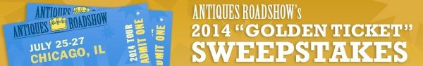 Enter the Antiques Roadshow Sweepstakes