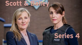 JANET SCOTT (Lesley Sharp) and RACHEL BAILEY (Suranne Jones) stand together in the car park.