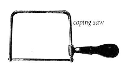 Saw, Coping