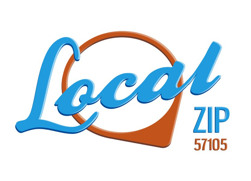 local zip 57105 logo