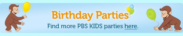 Birthday Parties Banner