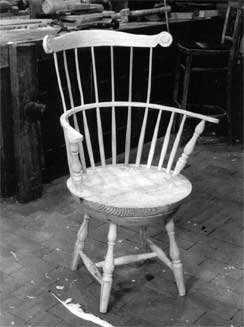 Adapted from the chair Thomas Jefferson used while composing the Declaration of Independence