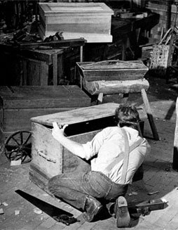 . . . and it was after long searching that I found the carpenter's chest, which was indeed a very useful loading of gold. --Daniel Dcfoc, Robinson Crusoe, 1719