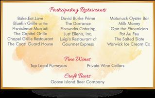 2018 Participating Restaurants