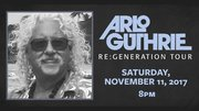 Two tickets to see Arlo Guthrie, The Re: Generation Tour live at the Park Theatre on Saturday, November 11