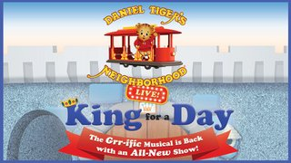 VIP tickets to Daniel Tiger's Neighborhood Live on Friday, October 6