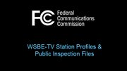 TV Station Profiles and Public Information Files