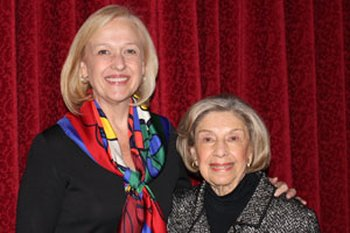 Paula Kerger, President and CEO of PBS, and Charlotte Hill