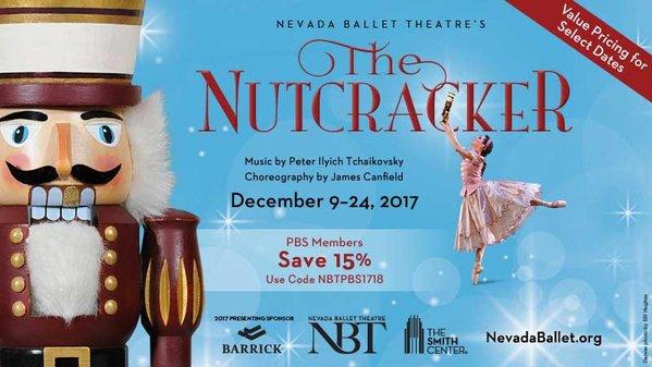 Nevada Ballet Theatre's The Nutcracker