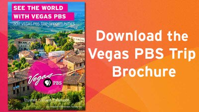 Vegas PBS Travel Brochure
