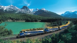 """CANADIAN ROCKIES WITH """"ROCKY MOUNTAINEER"""" TRAIN"""