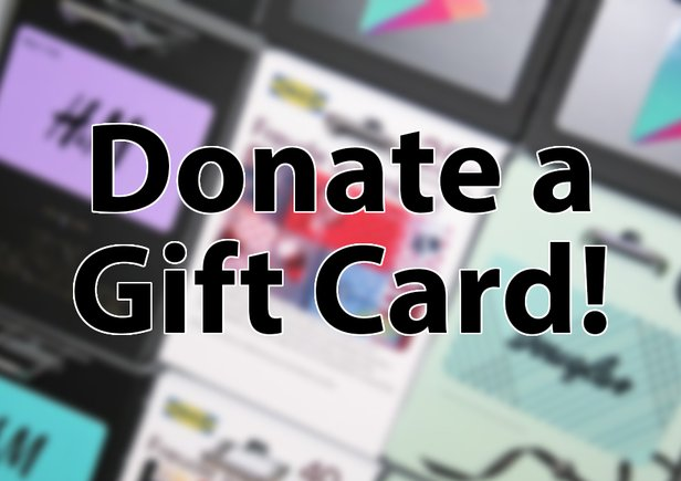 Donate a Gift Card