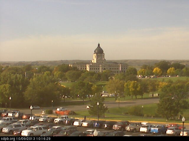 sd state capitol webcam image
