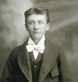 Grosvenor P. Cather, as a child