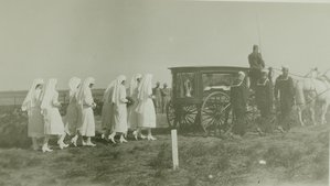 G. P. Cather's funeral cortege
