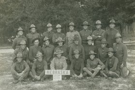 G. P. Cather's army unit
