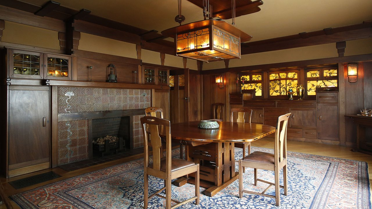 A Closer Look at the 10 Homes  The Gamble House  10 Homes that Changed America. Gamble House Interior. Home Design Ideas