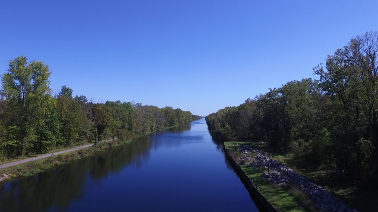 Canals In The United States : Erie the canal that made america pbs programs