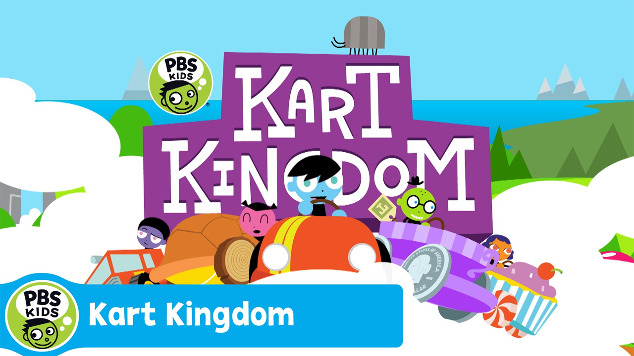 Pbs Kids Launches Its First Online World Kart Kingdom A Free