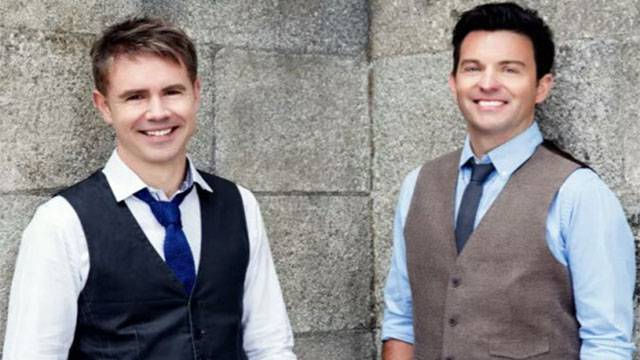 Meet greet with ryan and neil from celtic thunder wvia meet greet with ryan and neil from celtic thunder m4hsunfo
