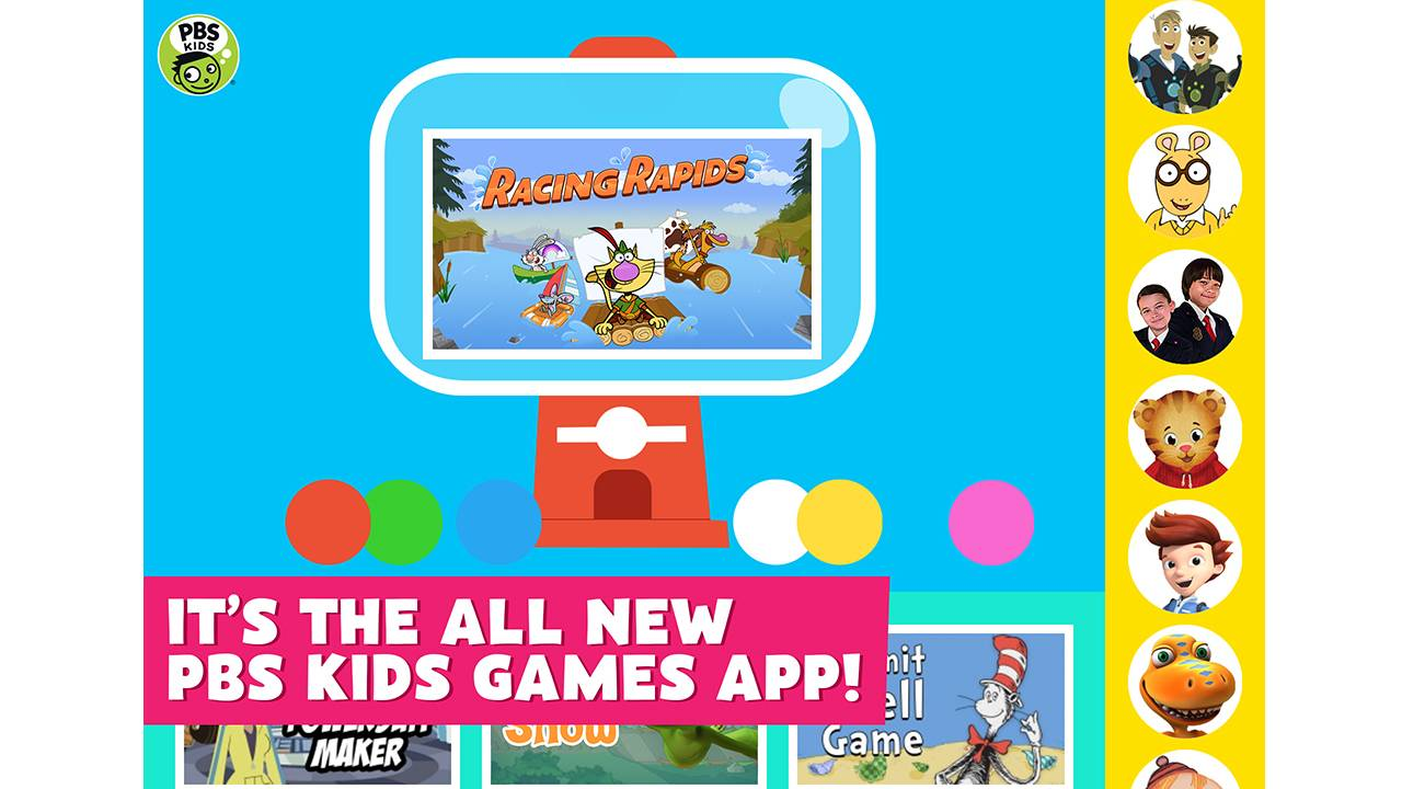 new app offers free access to pbs kids games anytime anywhere pbs