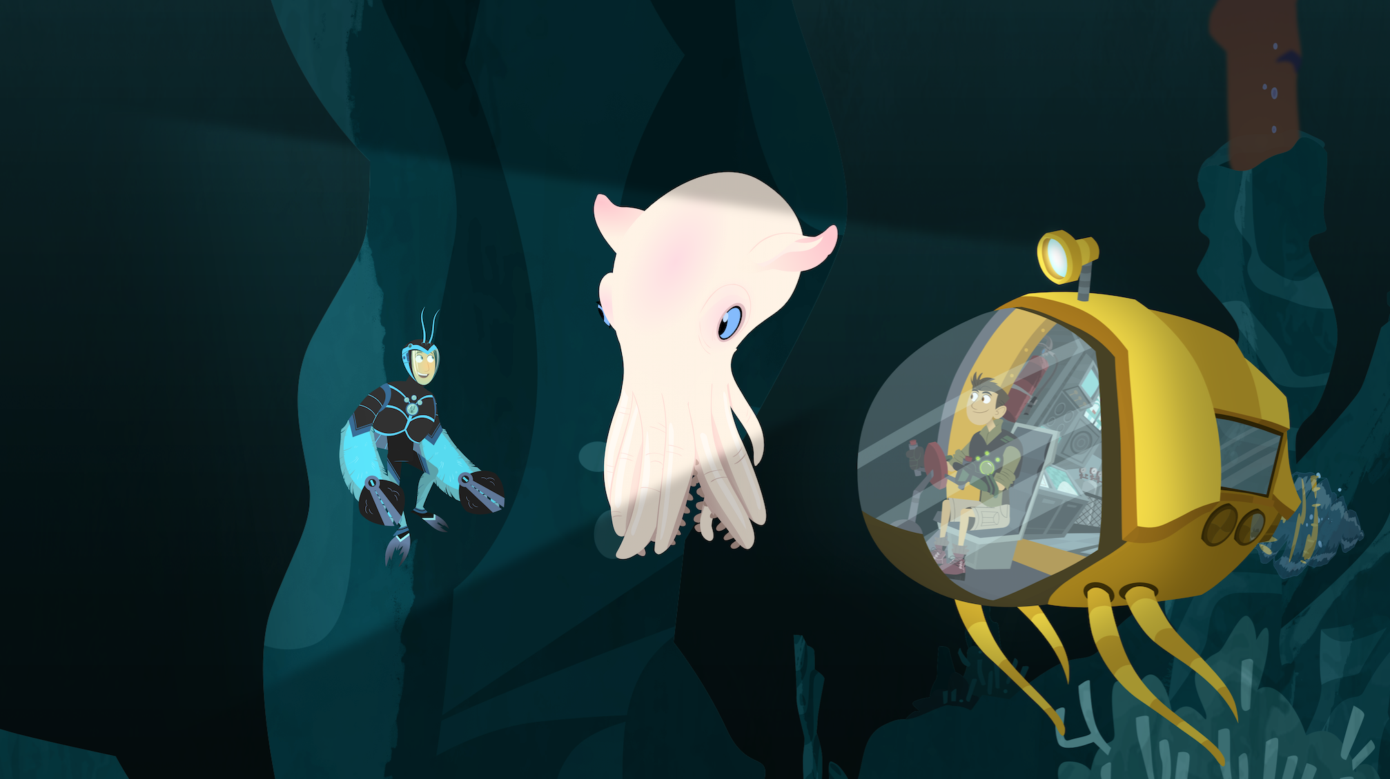 Dive Into A Deep Sea Adventure With A New Wild Kratts