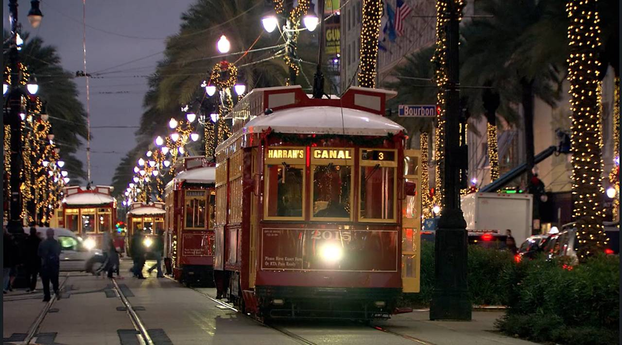 Watch Christmastime in New Orleans Christmas Night