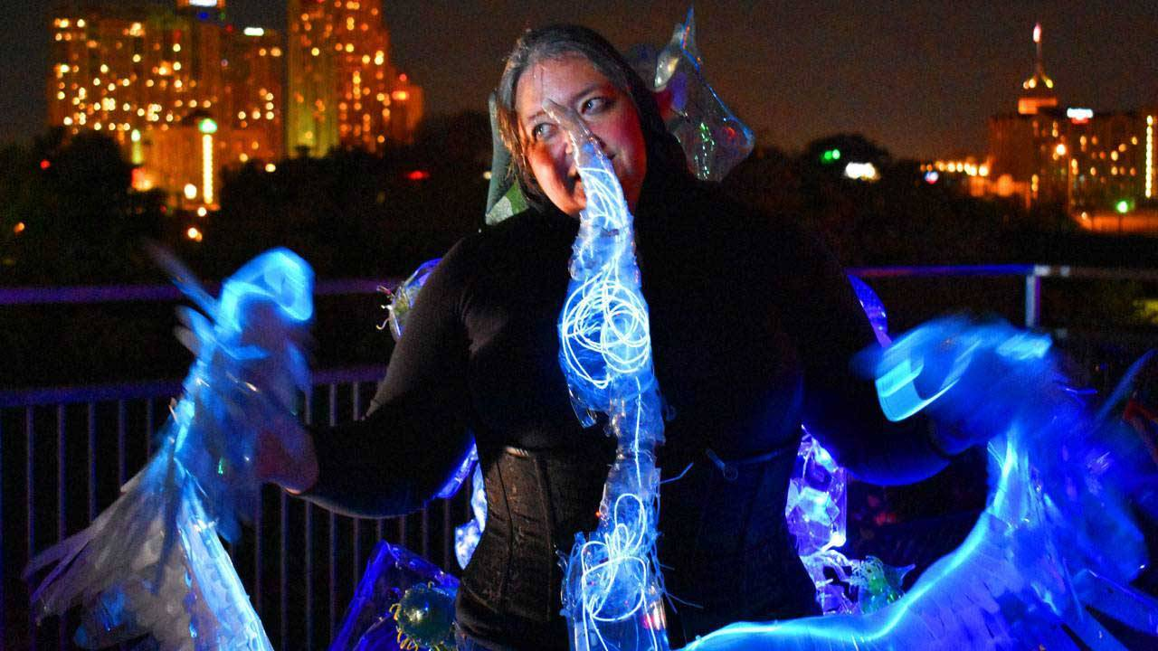 Luminaria Contemporary Arts Festival Lights Up San Antonio S East
