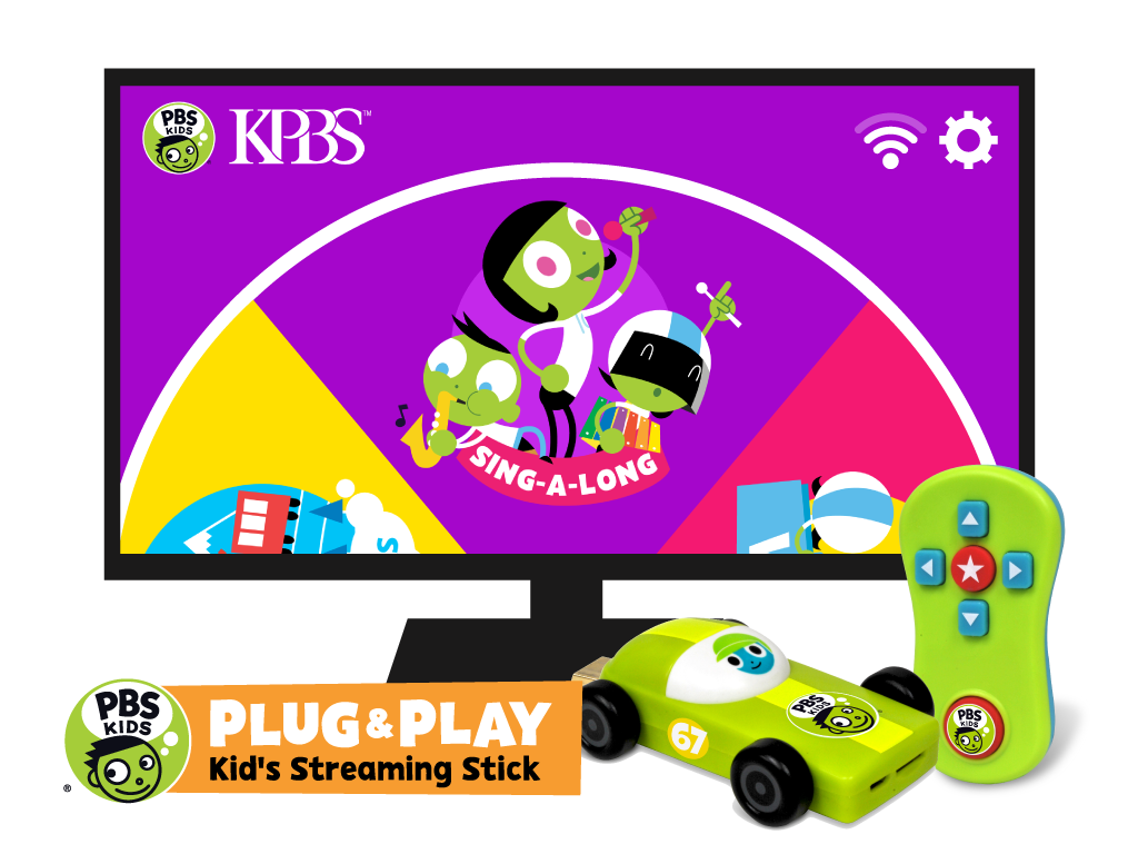 PBS KIDS Announces PBS KIDS PLUG & PLAY™, The First Kids' Television