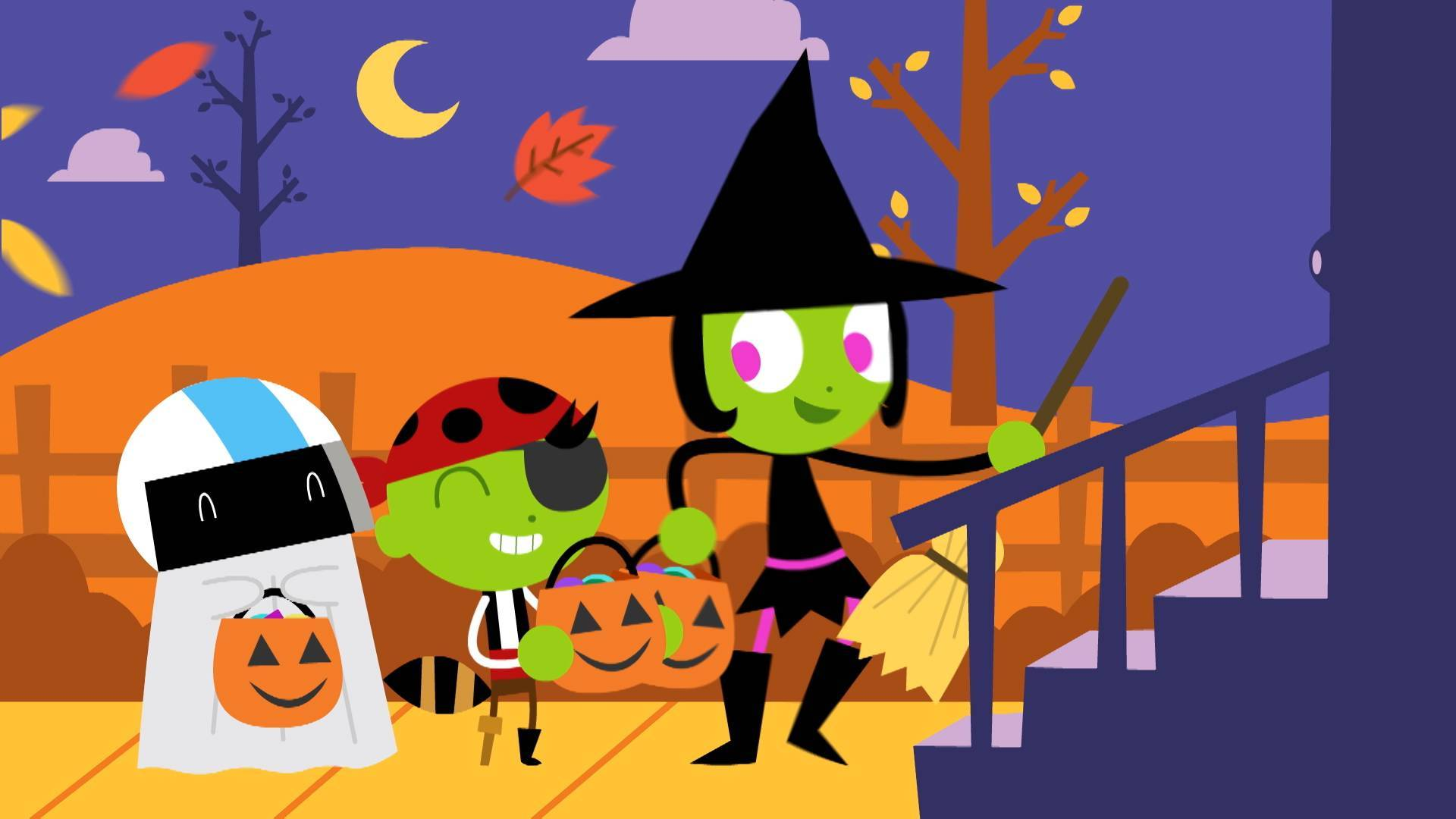 halloween comes to pbs kids with new programming, games and