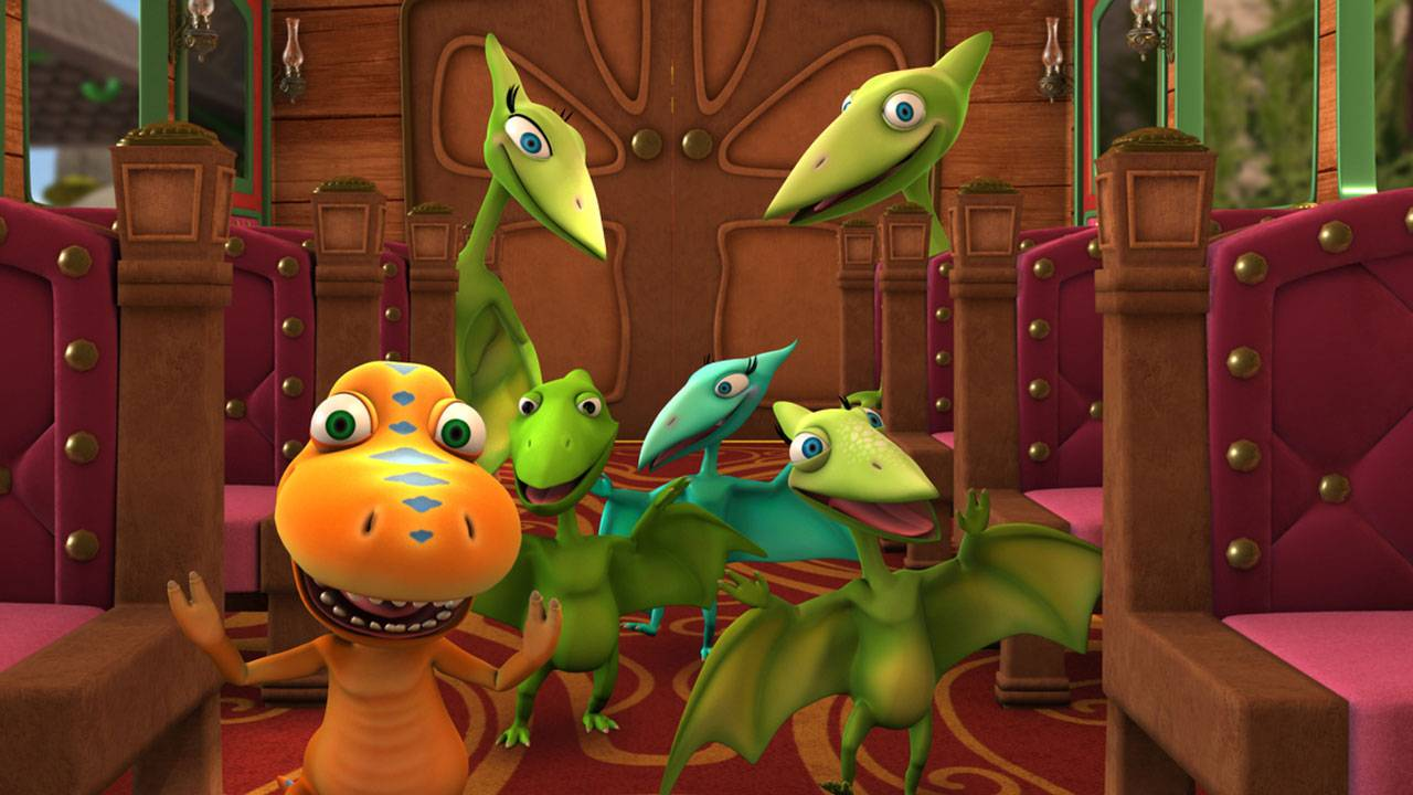 Dinosaur Train: The Traveling Exhibit at The Magic House ...
