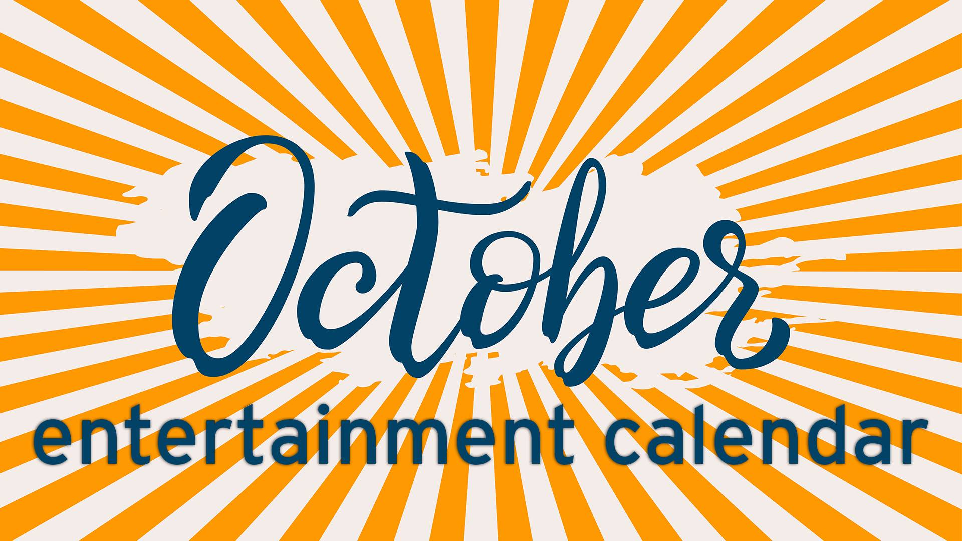 67789927 October entertainment calendar: Halloween, Old Dominion, 'Jersey Boys,'  Chad Prather, more