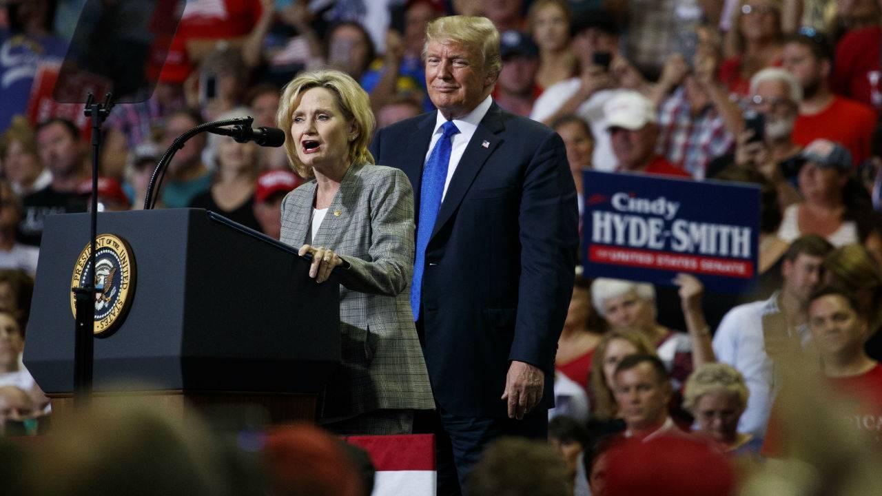 President Trump Throws Support Behind Sen. Cindy Hyde-Smith