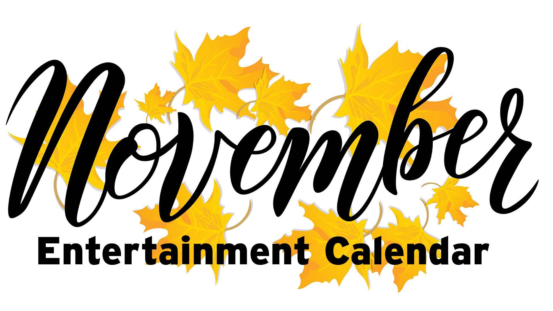 November Entertainment Calendar Three Dog Night Vienna Boys Choir