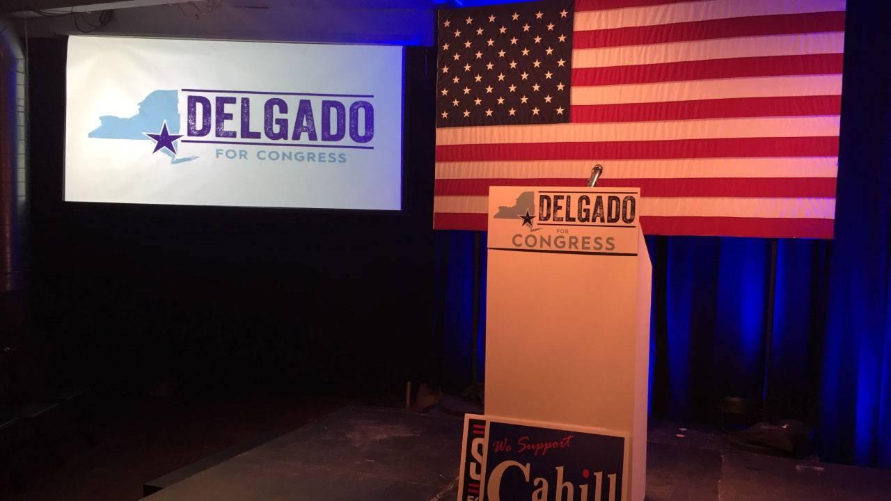 Delgado turns NY19 blue