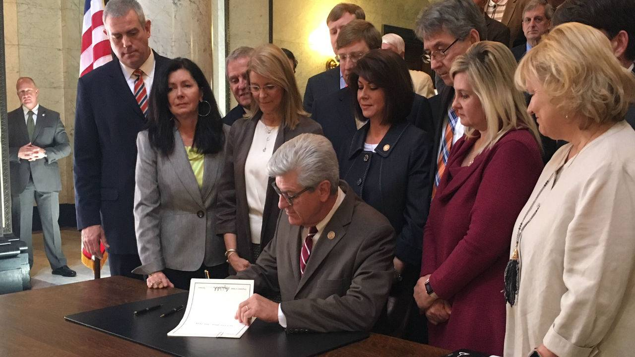 Governor Signs Most Restrictive Abortion Bill in Nation